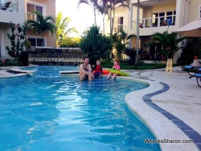 swimming pool cabarete accommodation