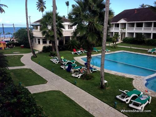 pool at albachiara hotel las terrenas