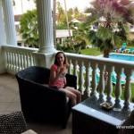 Staying in the lovely Hotel Albachiara in Las Terrenas