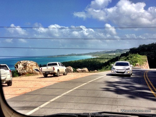 Views on the way back to Cabarete from las terrenas
