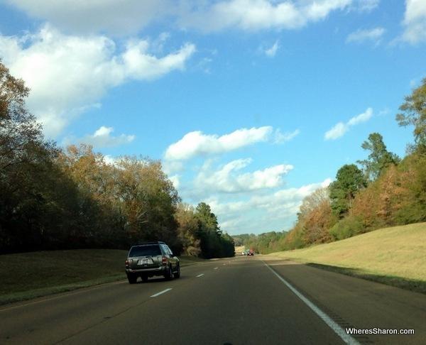 interstate Baton Rouge to Jackson