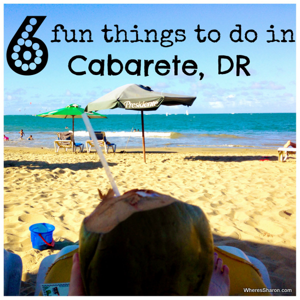 6 fun things to do in cabarete DR