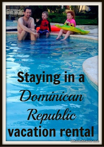 staying in a dominican republic vacation rental