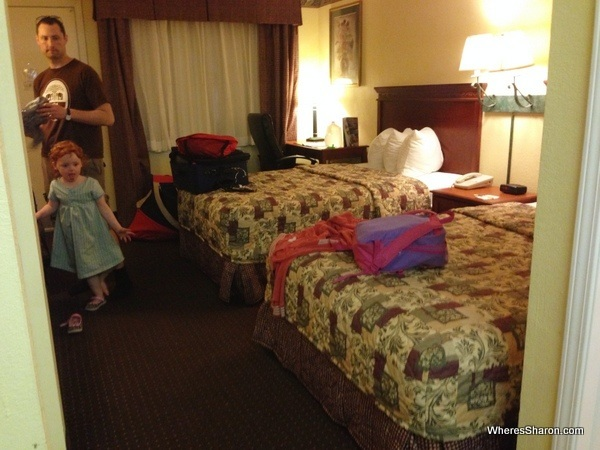 hotel room in Days Inn St Augustine motel chains USA
