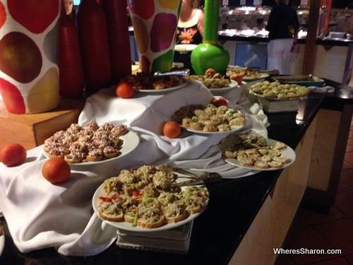 buffet in grand marien all inclusive dominican republic