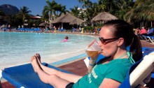 drinks by the pool at the Grand Marien all inclusive costa dorada