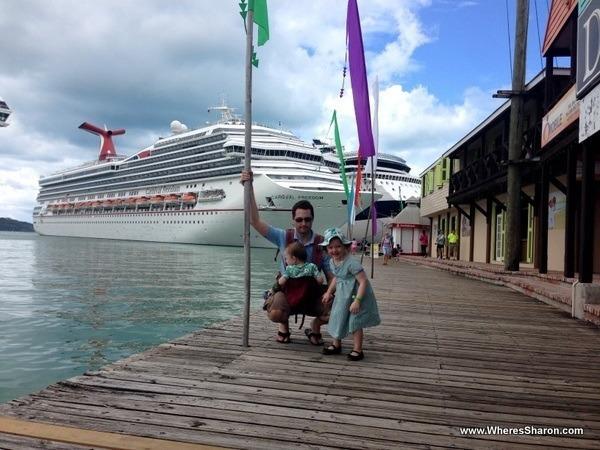 The Carnival Freedom in Antigua