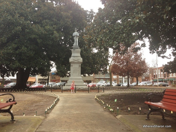 town square in covington GA vampire diaries