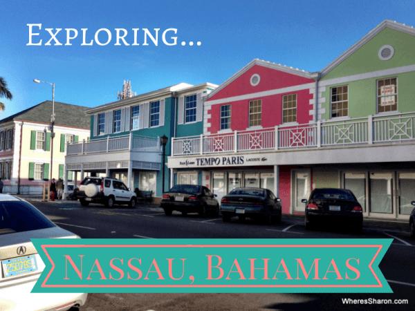 Exploring nassau bahamas