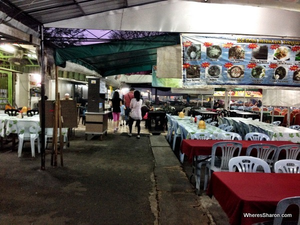 Taman Salera night market