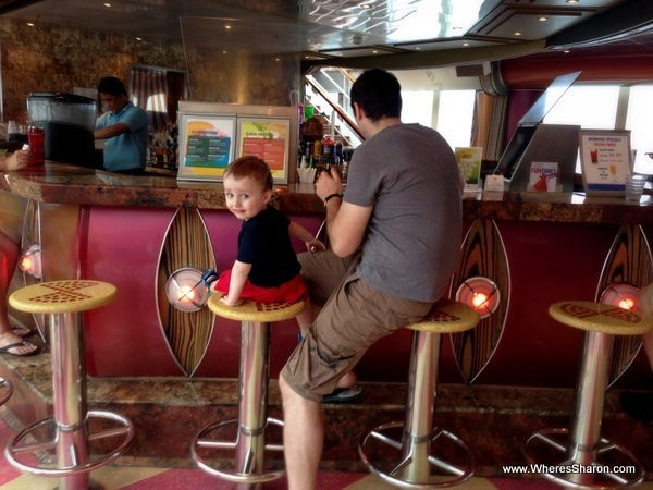 carnival caribbean cruise with kids bar