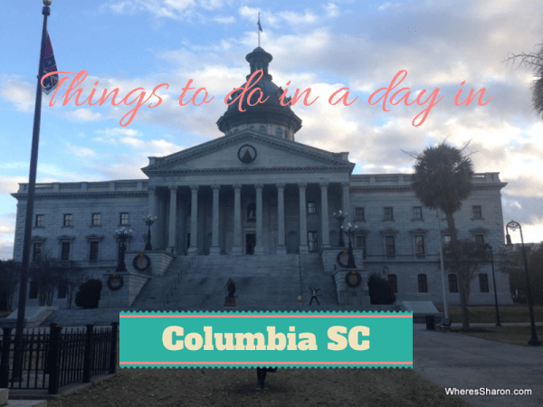 Things to do in a day in columbia SC with kids