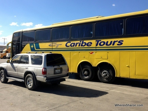 Bus from Dominican Republic to Haiti