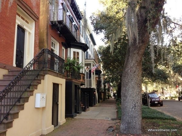 Streets of Savannah stopover