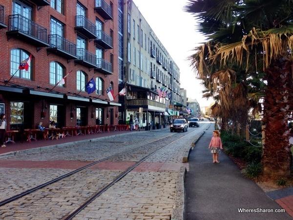 River Street, Savannah stopover