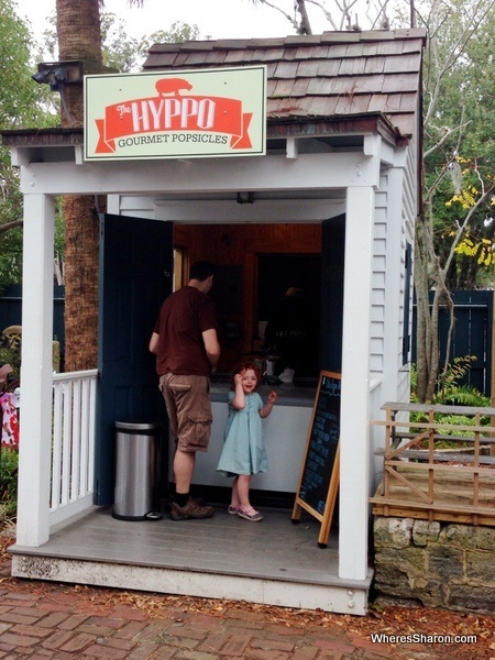 Hyppo Gourmet Popsicles St Augustine with kids