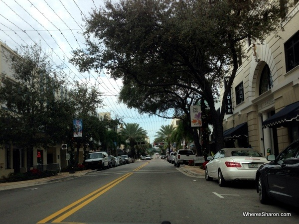 Clematis St in west palm beach