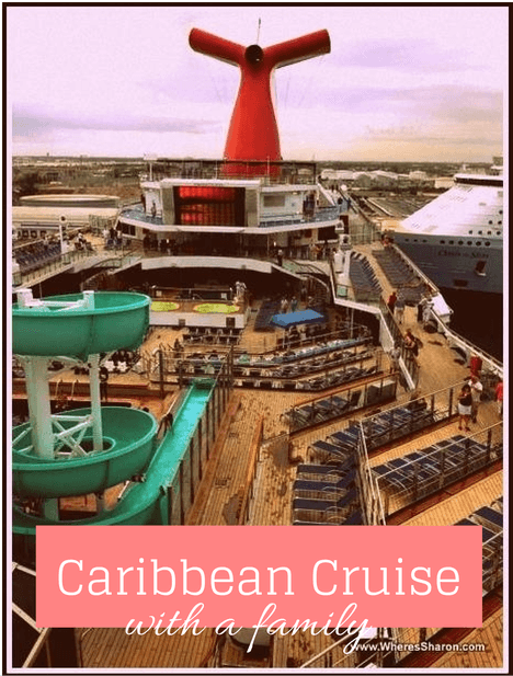 caribbean cruise with a family