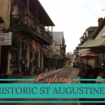 Exploring attractions in historic St Augustine with kids
