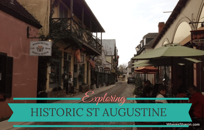 exploring historic st augustine with kids