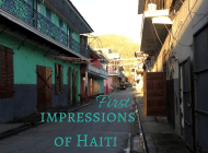 Haiti side trip: My first impressions