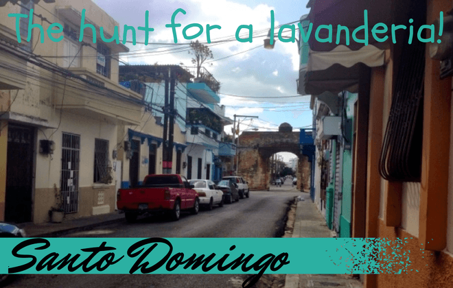 the hunt for a lavanderia santo domingo