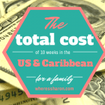 What did our trip cost to the USA and Caribbean?