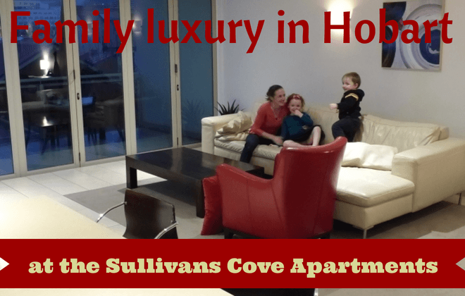 Family luxury in the heart of Hobart at Sullivans Cove Apartments