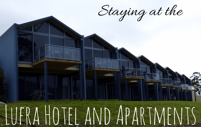 staying at the Lufra Hotel and Apartments