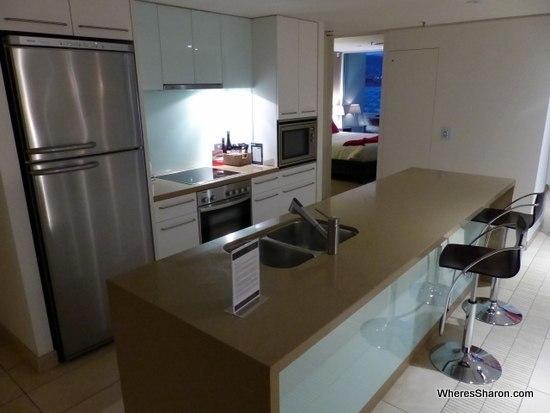 kitchen Sullivans Cove Apartments