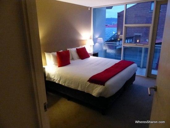 bedroom at Sullivans Cove Apartments