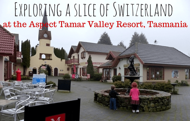 Enjoying a slice of Switzerland at the Aspect Tamar Valley Resort Grindelwald