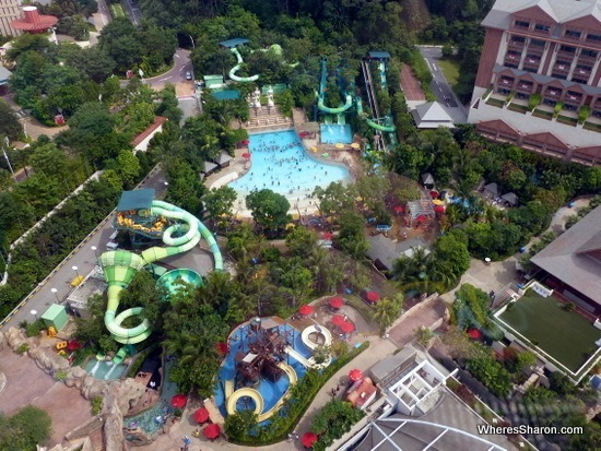 adventure cove waterpark from the air things to do in sentosa island