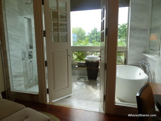 Bathroom at Hotel Fort Canning