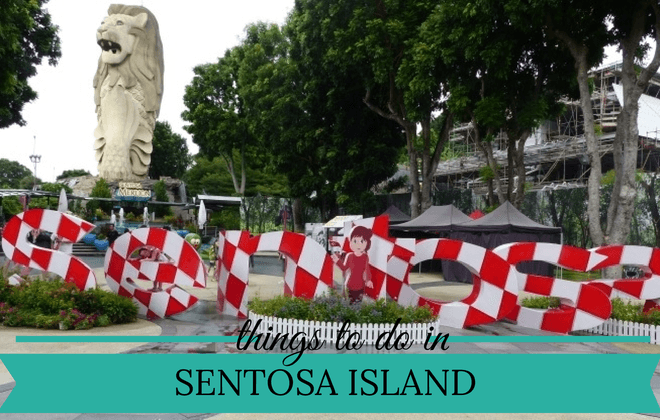 things to do in SENTOSA ISLAND with kids