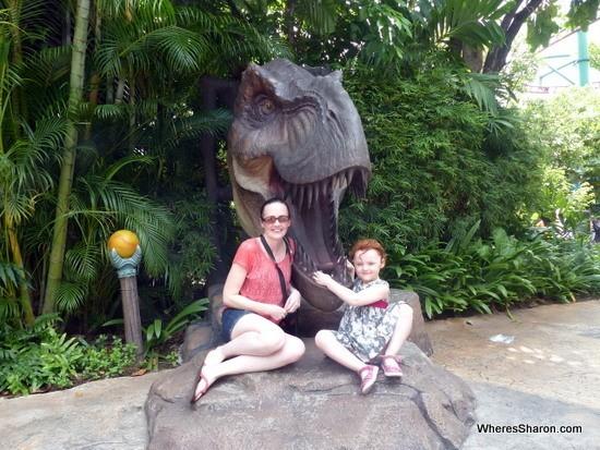 Dinosaur Universal Studios Singapore