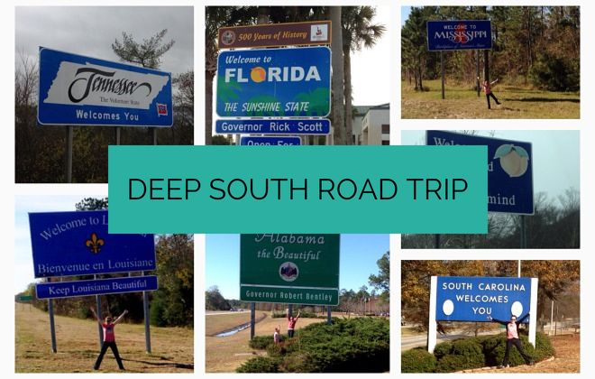 Deep South road trip
