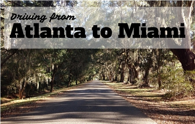 driving from Atlanta to Miami