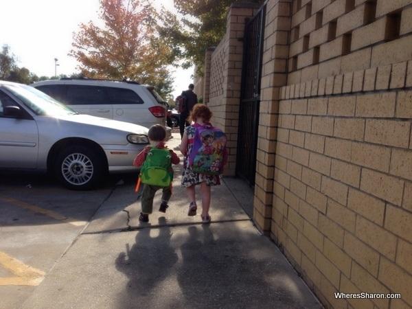 Kids on a Deep South road trip