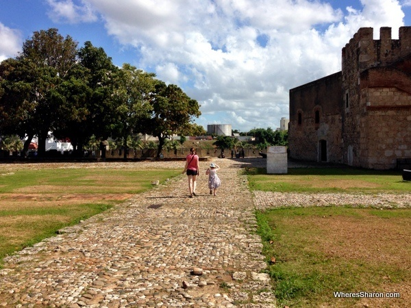fort ozama things to do in santo domingo with kids