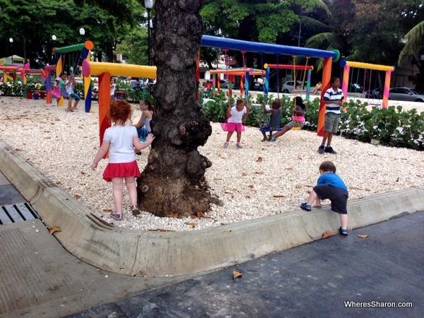 childrens park santo domingo