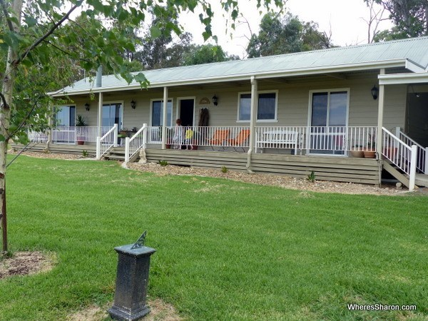 house farm stay wodonga