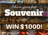 Share your best souvenir and win $1000!