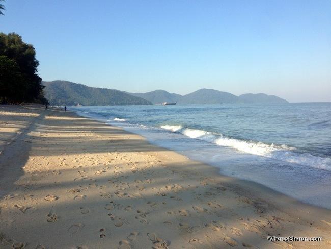 Golden Sands Resort beach