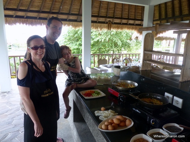 things to do in bali for kids cooking