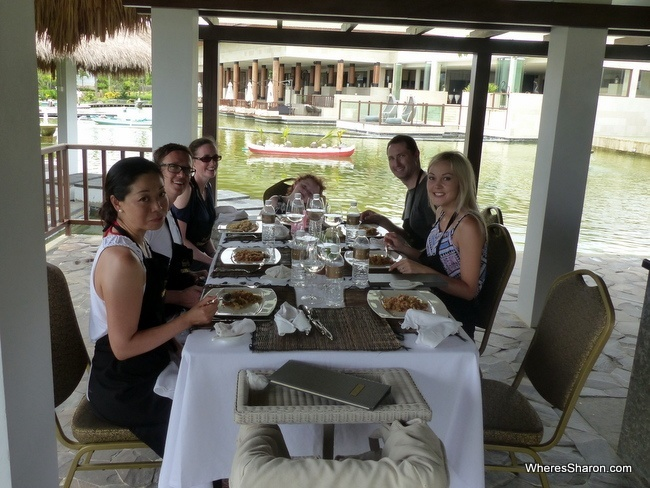 Samabe bali suites and villas cooking class