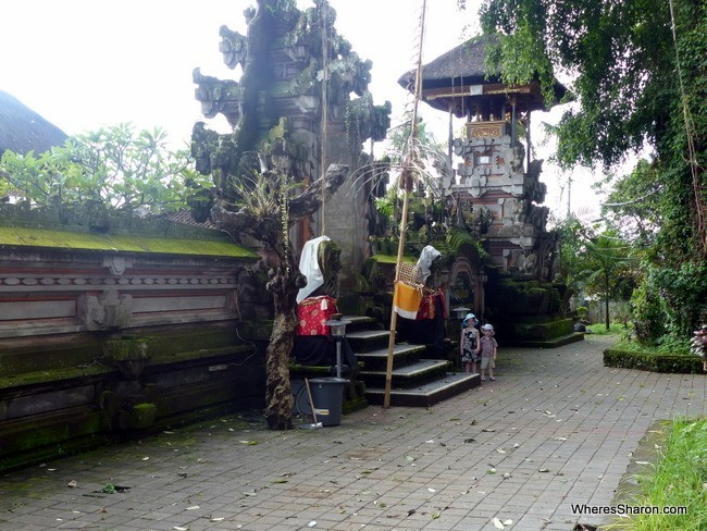 temple for bali kids activities