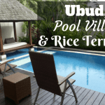Ubud, private pool villas and rice terraces