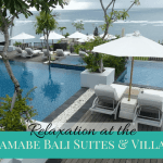 Relaxation and recreation at Samabe Bali Suites and Villas