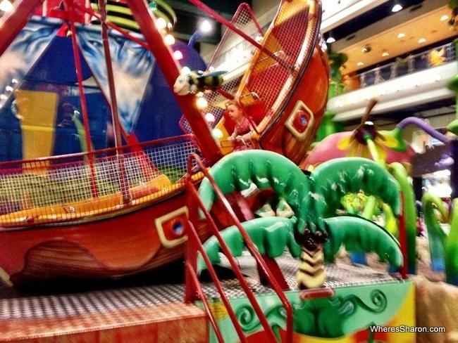 berjaya times square theme park kids ride